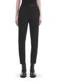 ALEXANDER WANG SLIM FIT TROUSERS WITH BALL CHAIN TRIM PANTS Adult 8_n_d