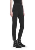 ALEXANDER WANG SLIM FIT TROUSERS WITH BALL CHAIN TRIM PANTS Adult 8_n_e