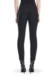 ALEXANDER WANG CROPPED SKATER PANTS WITHBALL CHAIN PANTS Adult 8_n_a