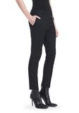 ALEXANDER WANG CROPPED SKATER PANTS WITHBALL CHAIN PANTS Adult 8_n_e