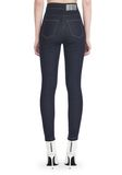 ALEXANDER WANG HIGH-WAISTED DENIM LEGGINGS WITH MULTI-SNAP DETAIL PANTS Adult 8_n_r