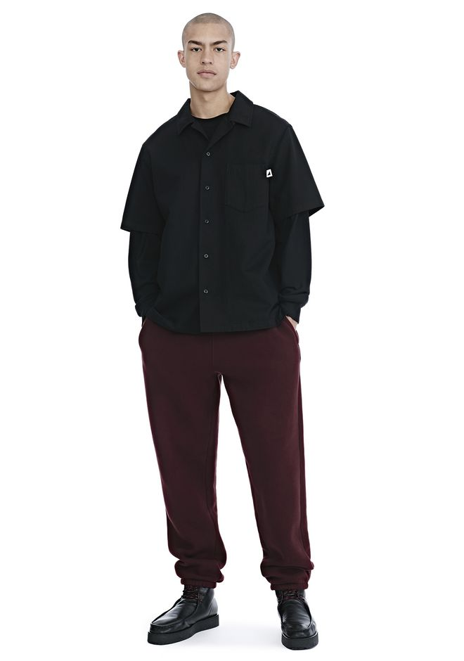 ALEXANDER WANG mens-new-apparel DENSE FLEECE SWEATPANTS