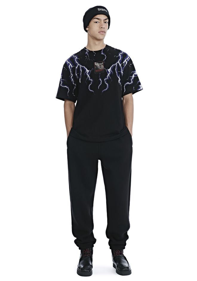 ALEXANDER WANG mens-new-apparel DENSE FLEECE SWEATPANTS