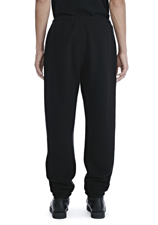 ALEXANDER WANG DENSE FLEECE SWEATPANTS PANTS Adult 12_n_a