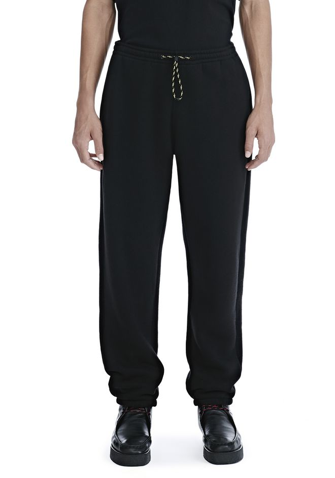 ALEXANDER WANG DENSE FLEECE SWEATPANTS PANTS Adult 12_n_d