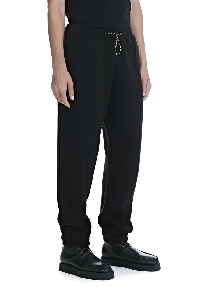 ALEXANDER WANG DENSE FLEECE SWEATPANTS PANTS Adult 12_n_e