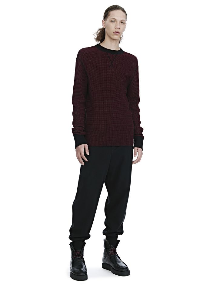ALEXANDER WANG mens-new-apparel VINTAGE FLEECE SWEATPANTS