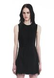 ALEXANDER WANG ZIP DENIM DRESS  DENIM Adult 8_n_f