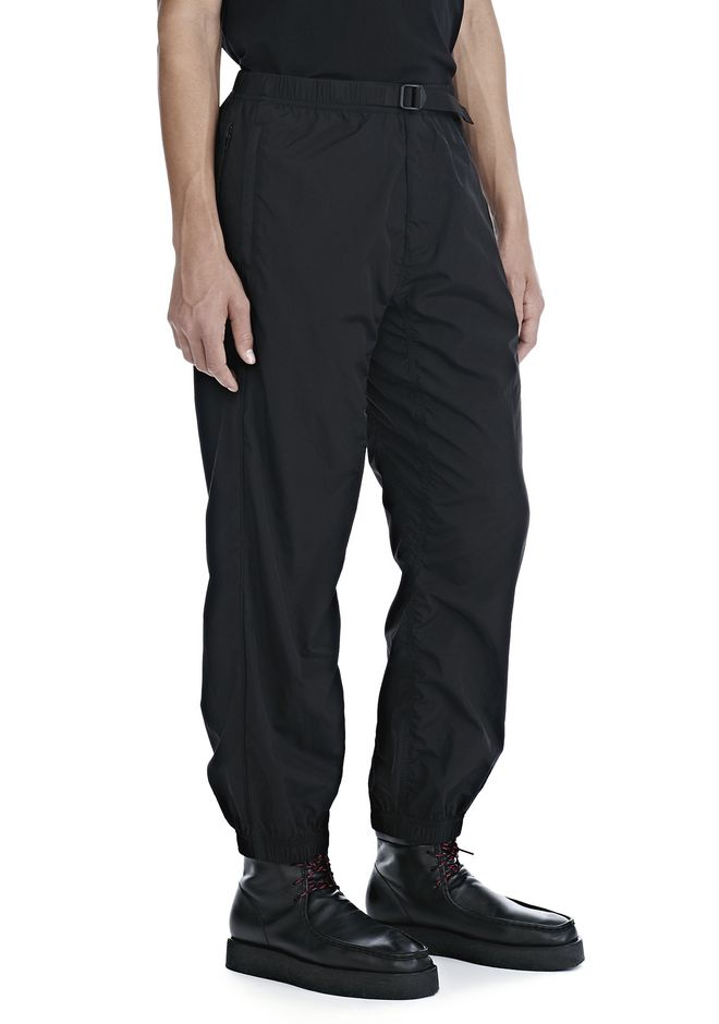 ALEXANDER WANG WASHED NYLON TRACK PANTS PANTS Adult 12_n_e
