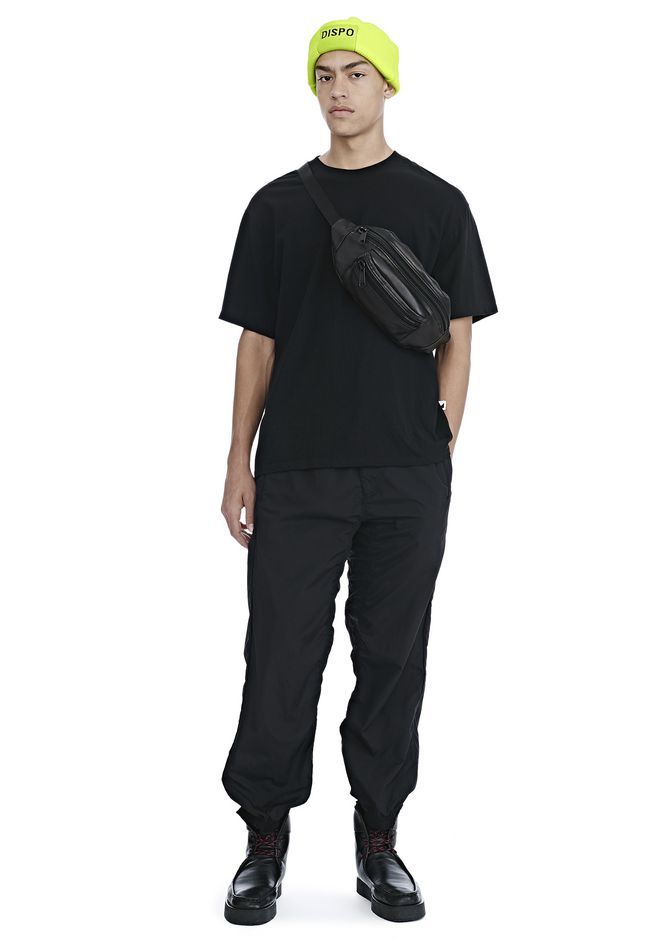 ALEXANDER WANG WASHED NYLON TRACK PANTS 裤装 Adult 12_n_f