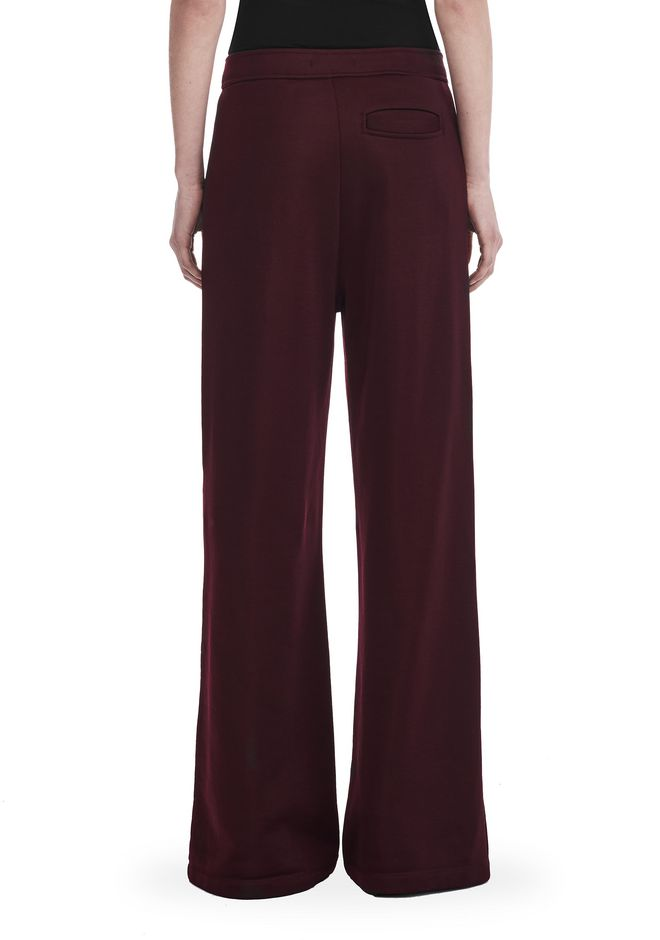 Alexander Wang Wide Leg Pull On Pants With Snaps Pants