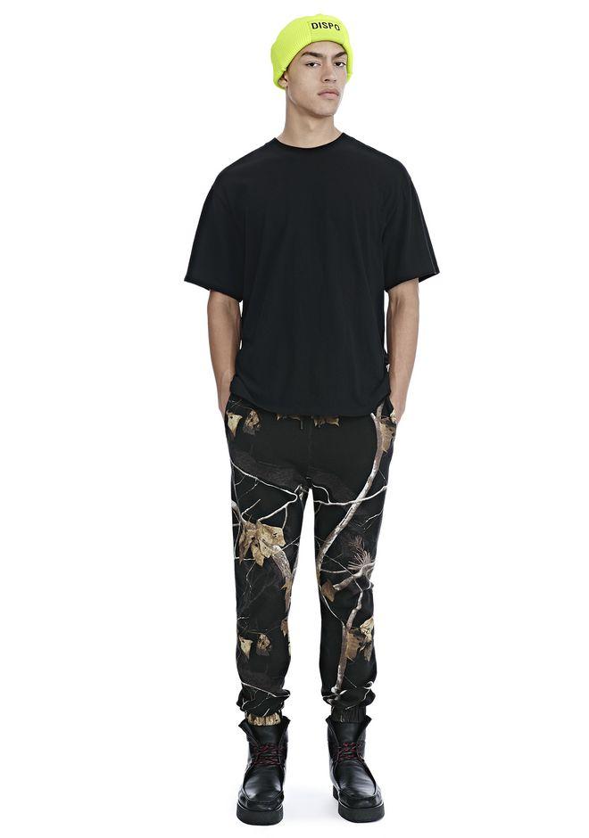 ALEXANDER WANG mens-new-apparel WINTER CAMO FLEECE SWEATPANTS