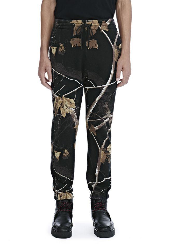 ALEXANDER WANG WINTER CAMO FLEECE SWEATPANTS PANTS Adult 12_n_d