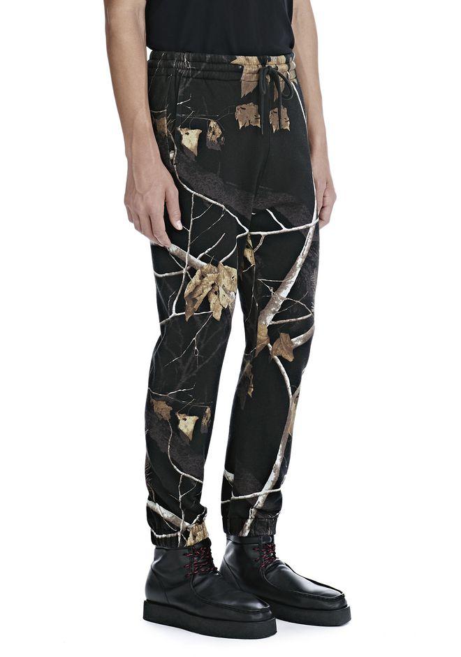 ALEXANDER WANG WINTER CAMO FLEECE SWEATPANTS PANTS Adult 12_n_e