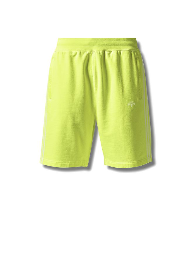 ALEXANDER WANG ADIDAS ORIGINALS BY AW BLEACH SHORTS PANTS Adult 12_n_f