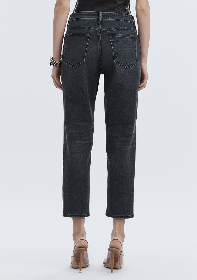 ALEXANDER WANG RIDE JEAN  DENIM Adult 12_n_r