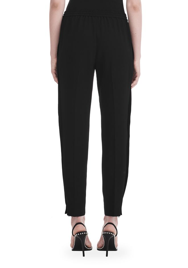 T by ALEXANDER WANG SATIN CREPE  WELDED PANTS PANTS Adult 12_n_a