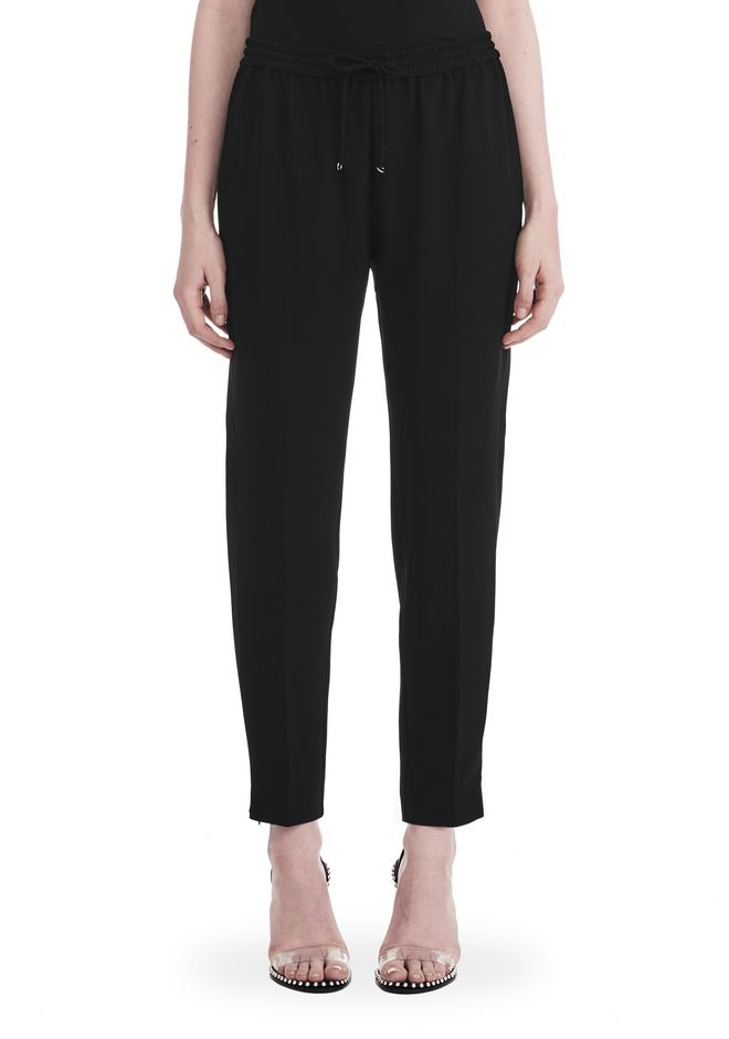 T by ALEXANDER WANG SATIN CREPE  WELDED PANTS PANTS Adult 12_n_d