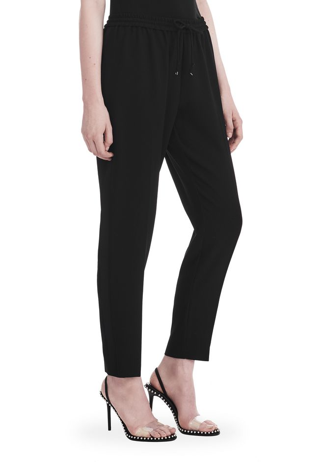 T by ALEXANDER WANG SATIN CREPE  WELDED PANTS PANTS Adult 12_n_e