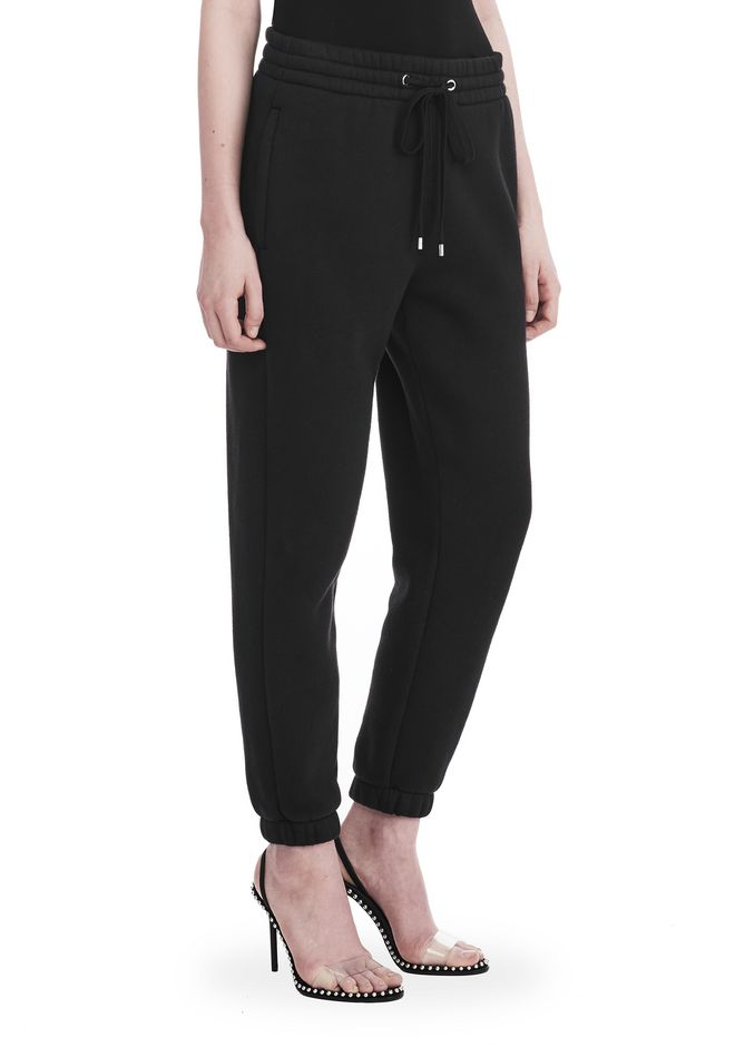 T by ALEXANDER WANG DENSE FLEECE SWEATPANTS 裤装 Adult 12_n_e