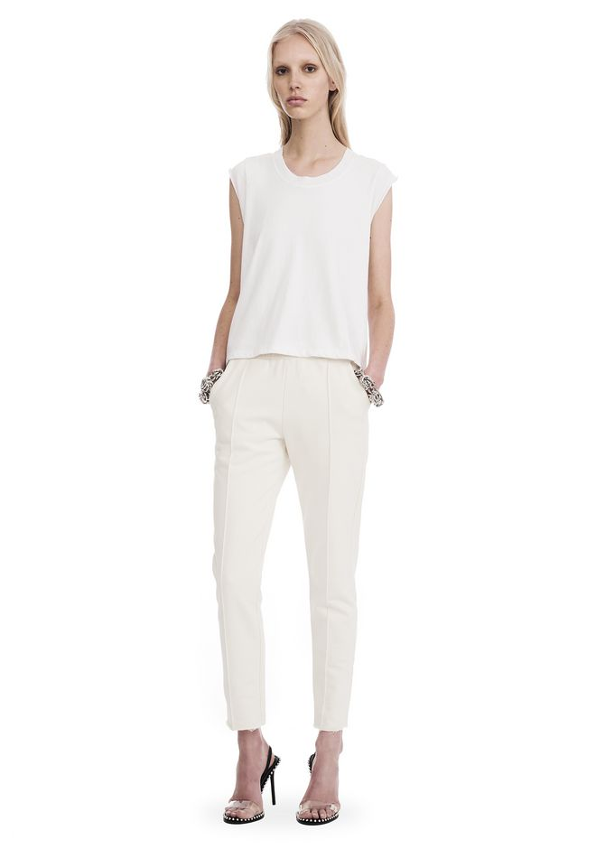 T by ALEXANDER WANG sltbbtm DRY FRENCH TERRY PULL ON LEGGING