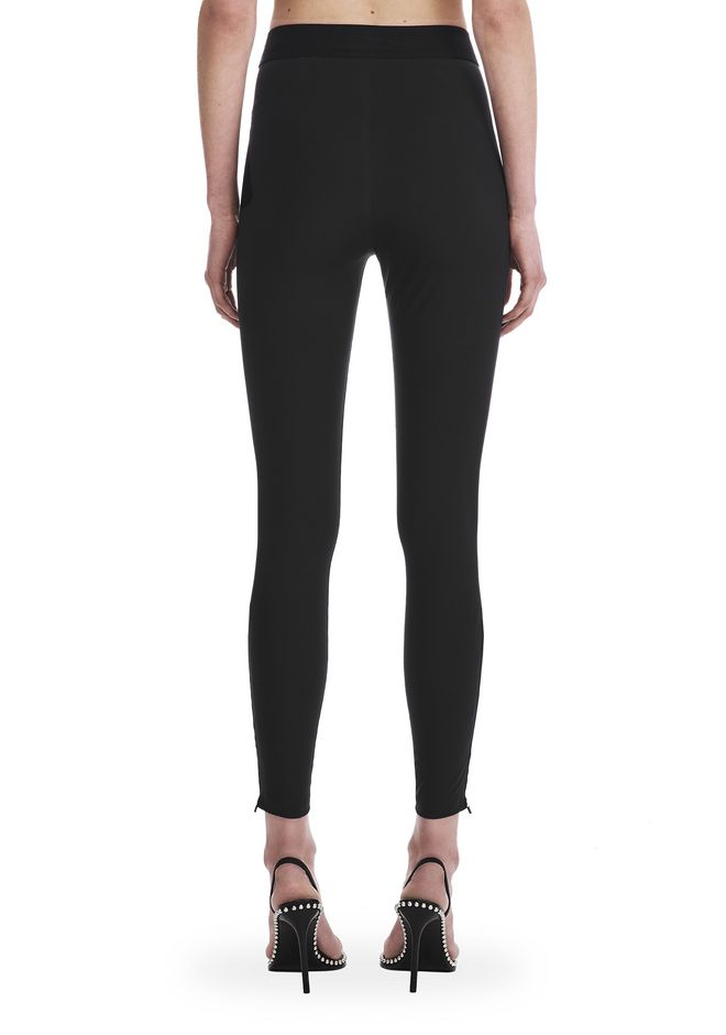 T by ALEXANDER WANG COMPACT STRETCH LEGGING  裤装 Adult 12_n_a