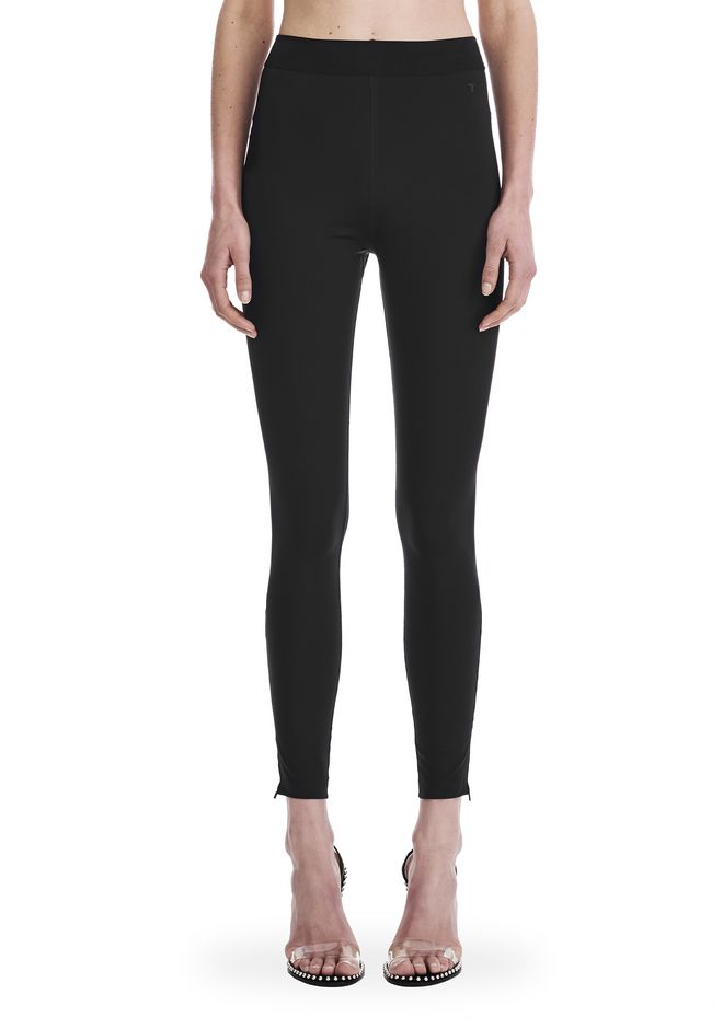 T by ALEXANDER WANG COMPACT STRETCH LEGGING  裤装 Adult 12_n_d