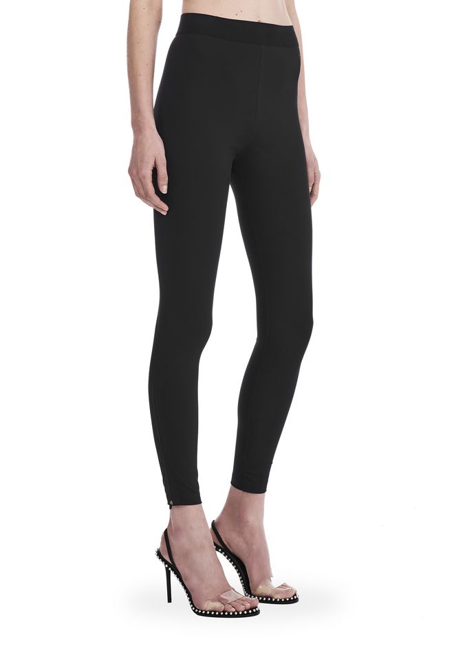 T by ALEXANDER WANG COMPACT STRETCH LEGGING  裤装 Adult 12_n_e