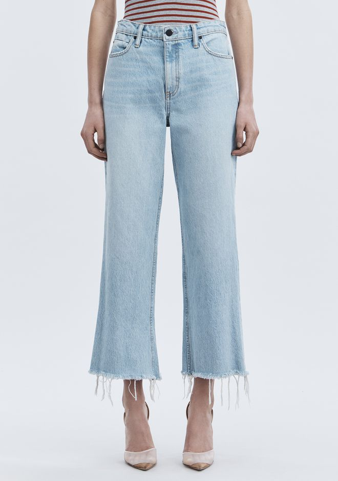 ALEXANDER WANG TAME JEAN DENIM Adult 12_n_a