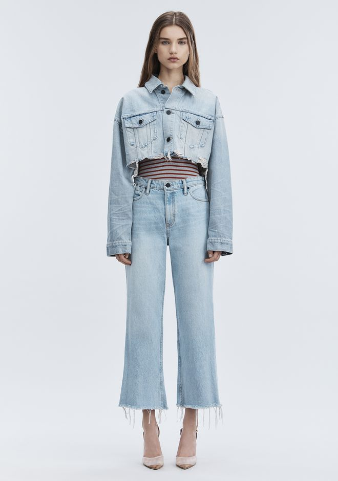 ALEXANDER WANG TAME JEAN DENIM Adult 12_n_f