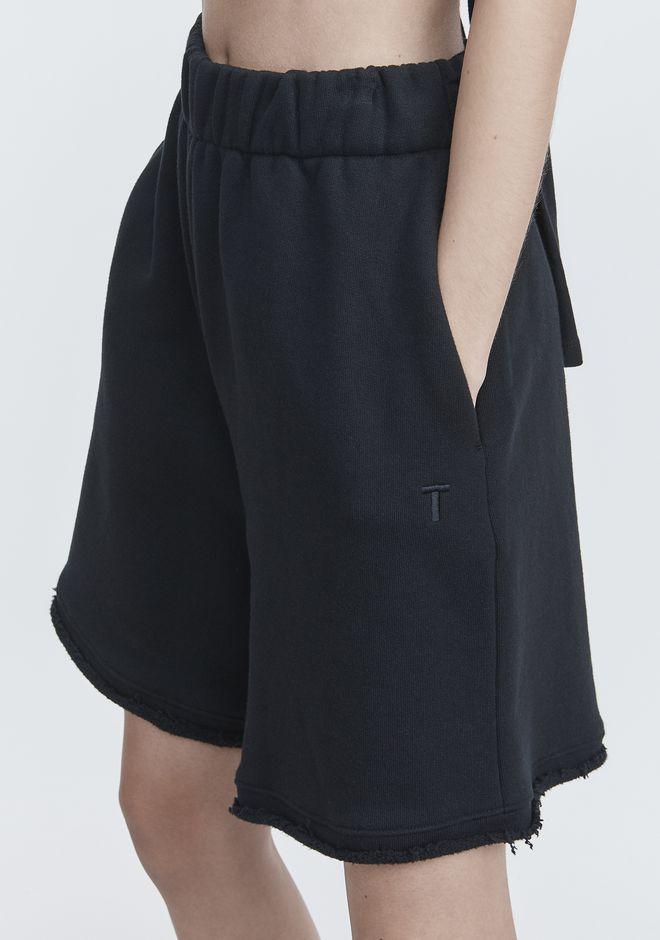 T by ALEXANDER WANG FLEECE GYM SHORTS 短裤 Adult 12_n_a