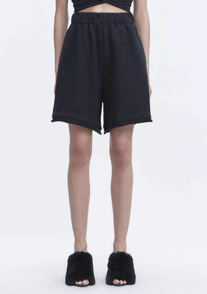 T by ALEXANDER WANG FLEECE GYM SHORTS 短裤 Adult 12_n_d