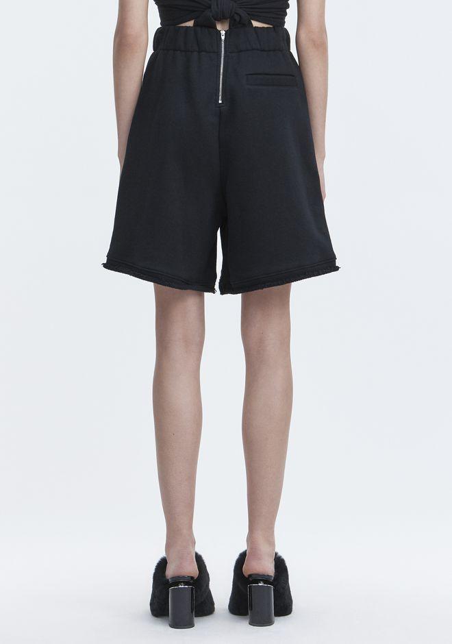T by ALEXANDER WANG FLEECE GYM SHORTS 短裤 Adult 12_n_r