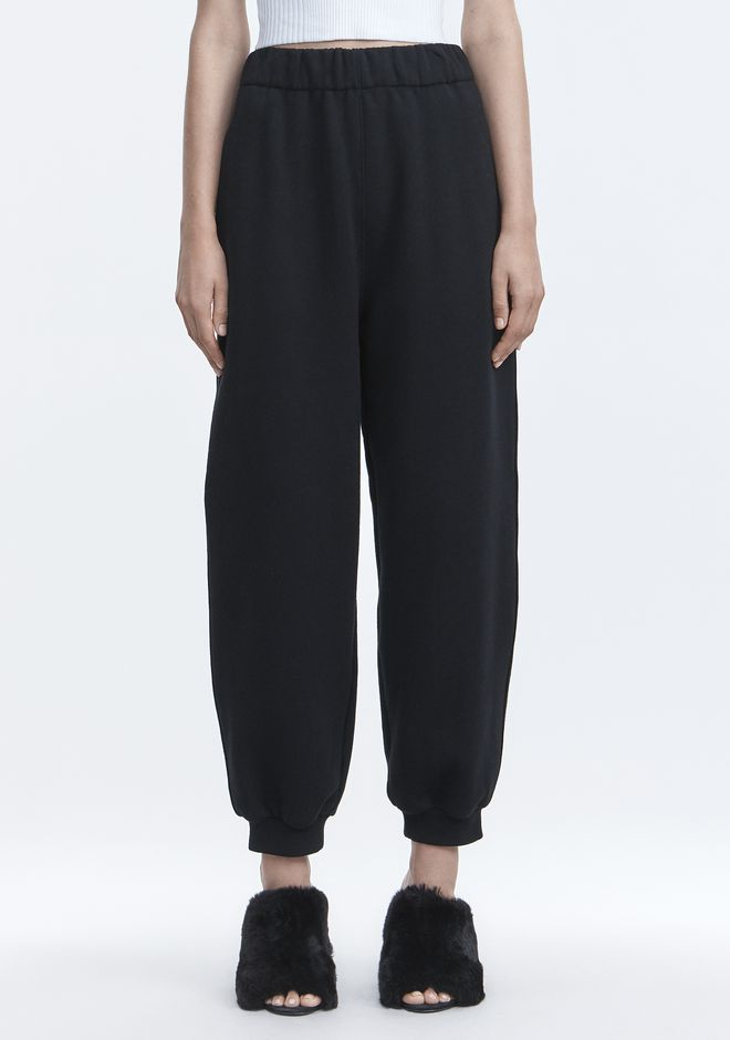 T by ALEXANDER WANG FLEECE SWEATPANTS HOSEN Adult 12_n_d