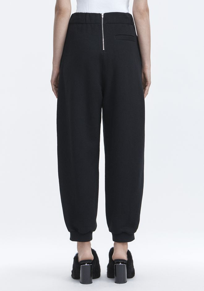 T by ALEXANDER WANG FLEECE SWEATPANTS HOSEN Adult 12_n_r