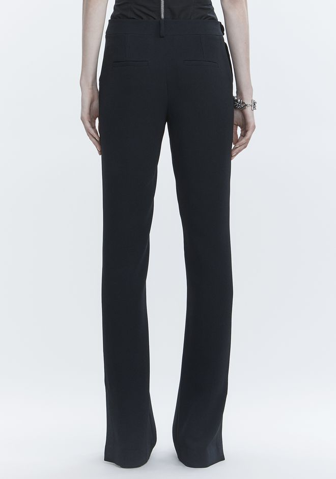 ALEXANDER WANG TROUSERS WITH SIDE SNAP CLOSURE PANTS Adult 12_n_a