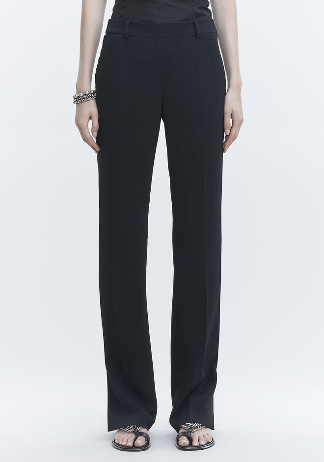 ALEXANDER WANG TROUSERS WITH SIDE SNAP CLOSURE PANTS Adult 12_n_d