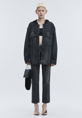 DAZE MIX OVERSIZED DENIM JACKET