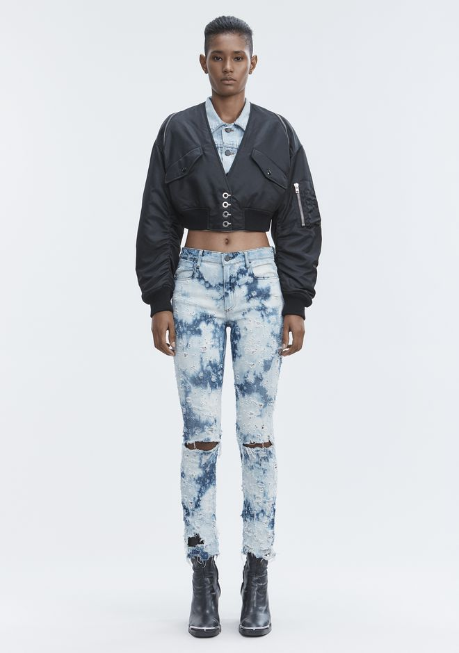 ALEXANDER WANG sale-denim WHIPLASH DESTROYED JEANS