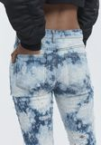 ALEXANDER WANG WHIPLASH DESTROYED JEANS DENIM Adult 8_n_r
