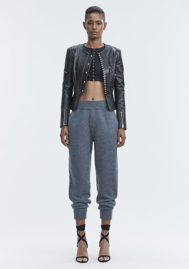 T by ALEXANDER WANG knitwear-t-by-alexander-wang-woman BOILED WOOL SWEATPANTS