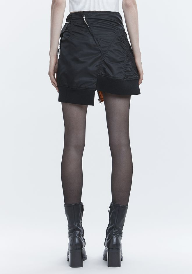 ALEXANDER WANG DECONSTRUCTED BOMBER SKIRT SKIRT Adult 12_n_a