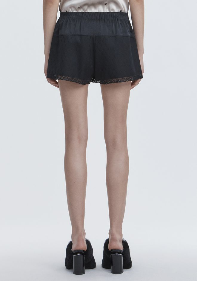 ALEXANDER WANG BLOOMER SHORTS SHORTS Adult 12_n_a