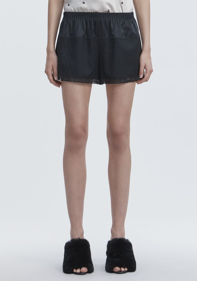 ALEXANDER WANG BLOOMER SHORTS SHORTS Adult 12_n_d