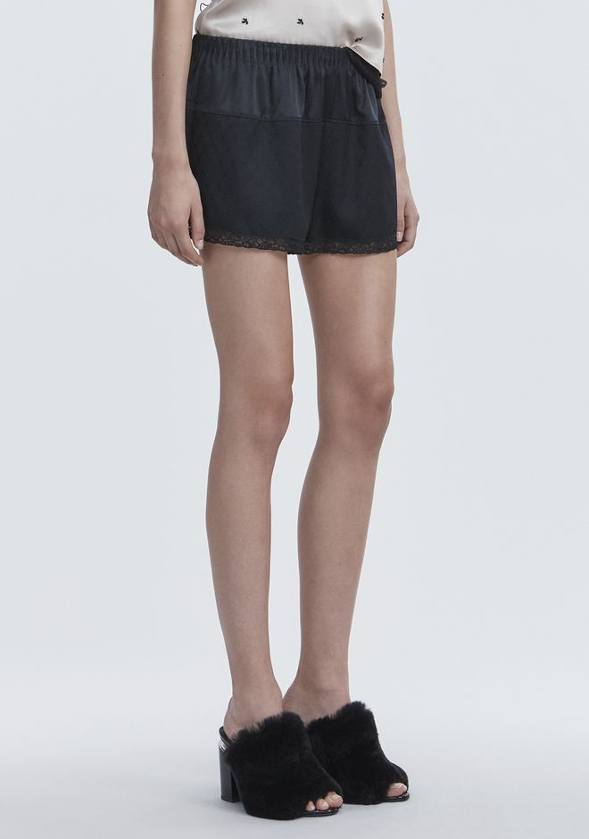 ALEXANDER WANG BLOOMER SHORTS SHORTS Adult 12_n_e