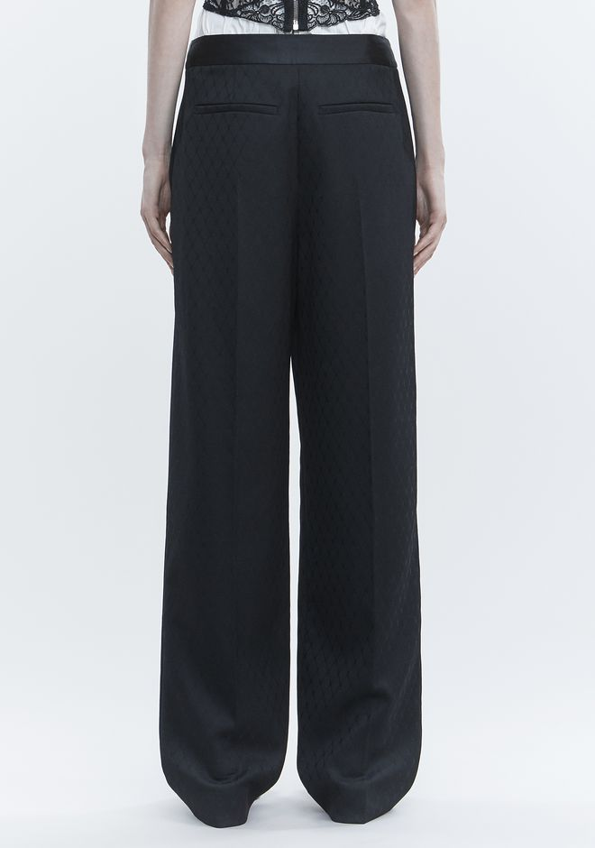 ALEXANDER WANG SINGLE PLEAT PANT PANTS Adult 12_n_a