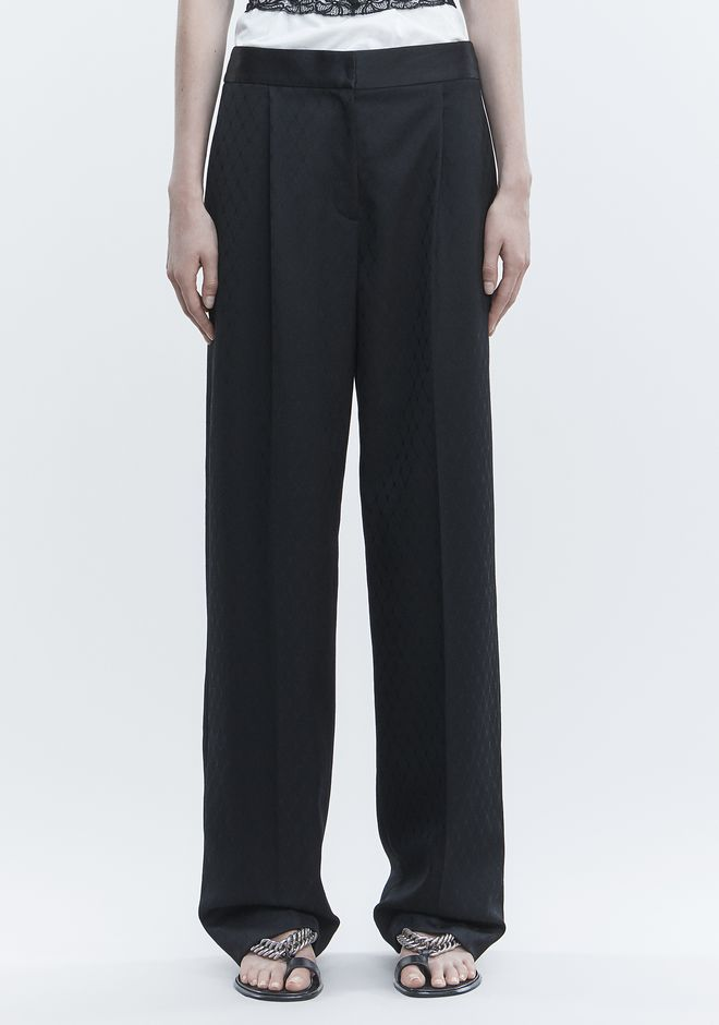 ALEXANDER WANG SINGLE PLEAT PANT PANTS Adult 12_n_d
