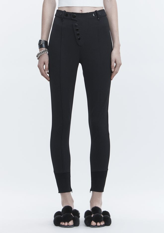 ALEXANDER WANG HIGH WAISTED LEGGINGS PANTS Adult 12_n_d