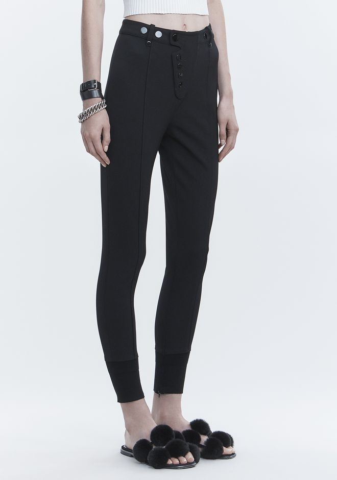 ALEXANDER WANG HIGH WAISTED LEGGINGS PANTS Adult 12_n_e