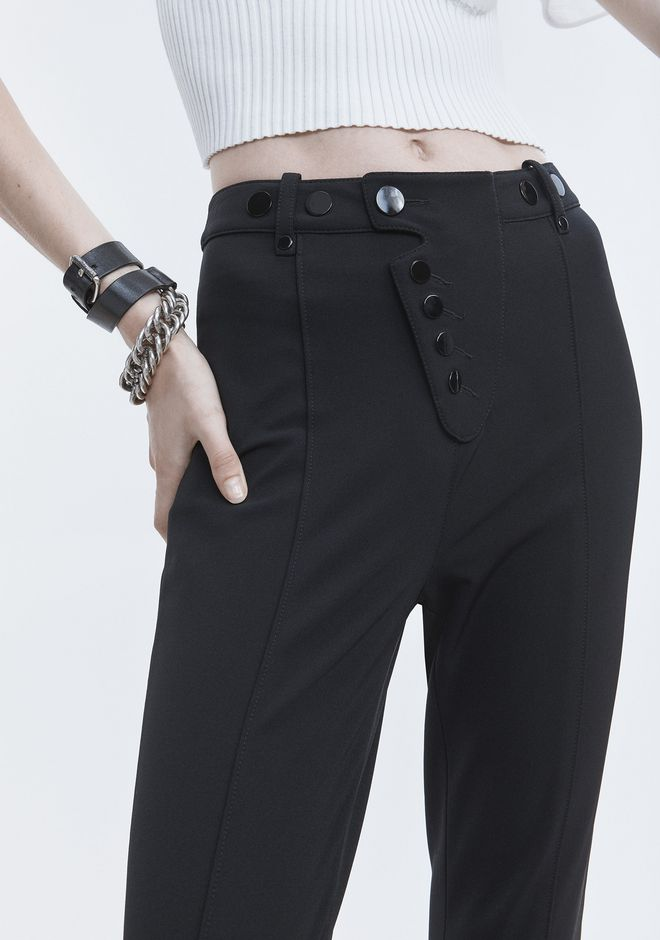 ALEXANDER WANG HIGH WAISTED LEGGINGS PANTS Adult 12_n_r